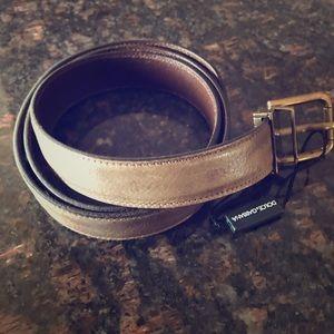 Dolce & Gabbana tan 38 inch men's belt